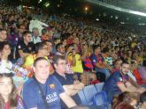 La Peña Barcelonista de Totana estuvo presente en la final de la Supercopa