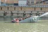 Las piraguas navegarán en Murcia por un gran caudal impulsado por las nuevas bombas de recirculación del río Segura