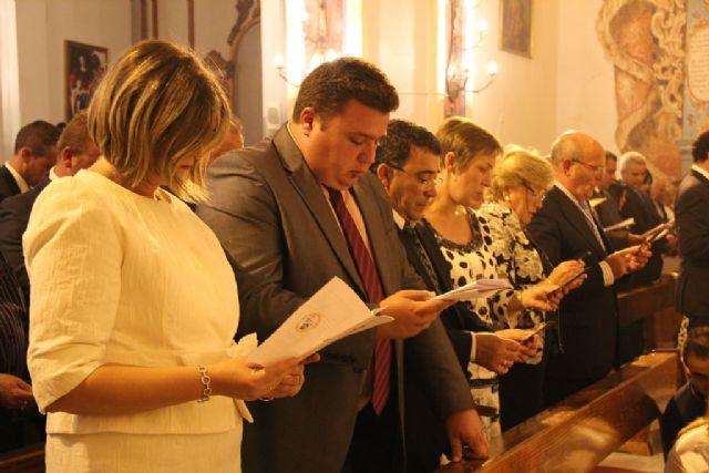 El pueblo de Pliego vive su experiencia de fe junto a María , Mons. Lorca Planes durante la Apertura del Año Jubilar Santiaguista de Pliego - 3, Foto 3