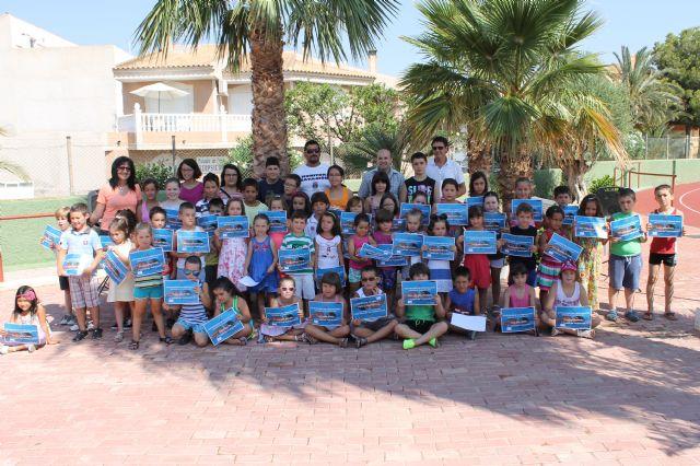 430 niñ@s participan en los cursos de natación de la concejalía de deportes, Foto 1