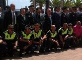 Campos destaca la 'vocación de servicio' de los agentes del cuerpo de la Policía Local