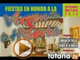 Los vecinos de la diputaci�n de La Huerta celebran este fin de semana, 7 y 8 de septiembre, sus tradicionales fiestas populares
