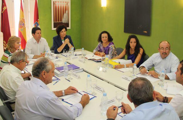 El consejero de Obras Públicas y la Alcaldesa anuncian el inicio de las obras en la carretera que une la Estación- Esparragal de Puerto Lumbreras y Lorca - 1, Foto 1