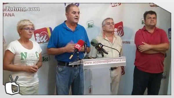 Rueda de prensa IU-verdes sobre inicio del curso político y actualidad, Foto 1