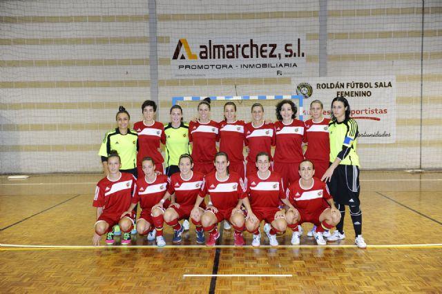 Primer partido de preparación de España FSF para el mundial de Venezuela ante la selección murciana s-21 - 1, Foto 1