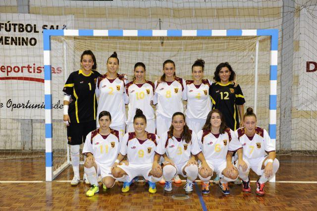 Primer partido de preparación de España FSF para el mundial de Venezuela ante la selección murciana s-21 - 2, Foto 2