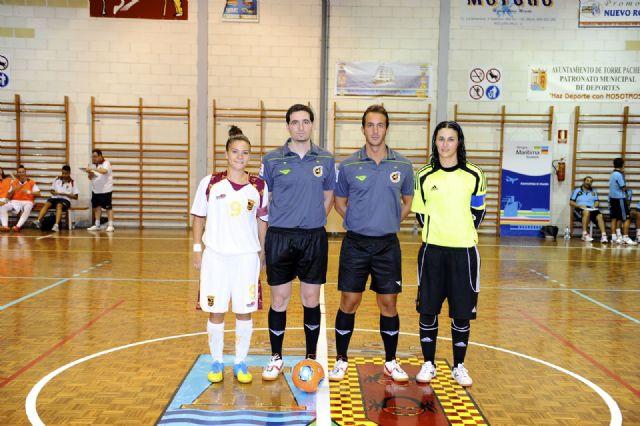 Primer partido de preparación de España FSF para el mundial de Venezuela ante la selección murciana s-21 - 3, Foto 3