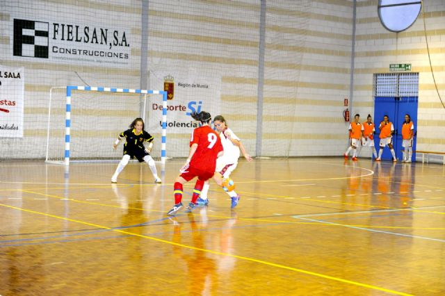 Primer partido de preparación de España FSF para el mundial de Venezuela ante la selección murciana s-21 - 4, Foto 4
