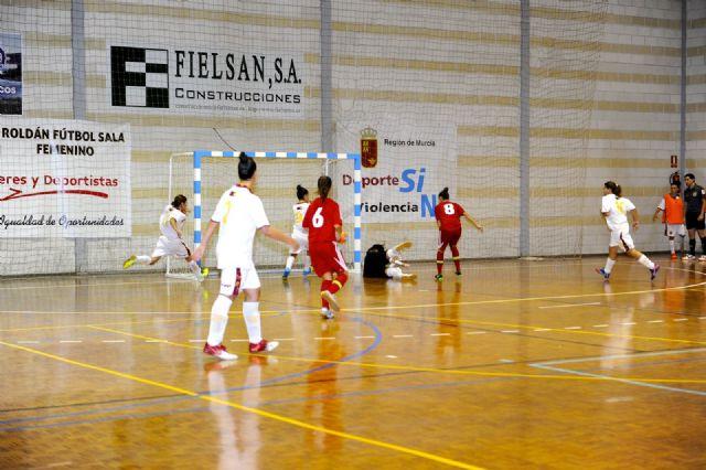 Primer partido de preparación de España FSF para el mundial de Venezuela ante la selección murciana s-21 - 5, Foto 5