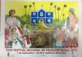El Festival Nacional de Folclore de Molina de Segura celebra su trigésimo primera edición el sábado 7 de septiembre