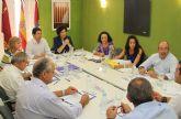 El consejero de Obras Públicas y la Alcaldesa anuncian el inicio de las obras en la carretera que une la Estación- Esparragal de Puerto Lumbreras y Lorca