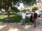 Jardines a punto para el comienzo de la Feria de Murcia
