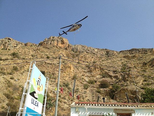 La Comunidad colabora en el desarrollo de un proyecto para consolidar las laderas en el monte de La Solana de Ulea - 2, Foto 2