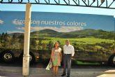 La Alcaldesa de San Pedro del Pinatar, visita el Autobús de Iberdrola