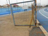 Juventudes Socialistas de La Unión denuncia la falta de mantenimiento de algunas instalaciones deportivas