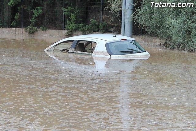 Meteorología advierte de lluvias y tormentas (aviso amarillo) para hoy en toda la Región de Murcia, Foto 1
