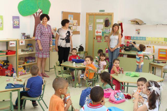 Puerto Lumbreras inicia el curso escolar con mejoras en todos los colegios y con un aumento del 3,21% de su población escolar - 1, Foto 1