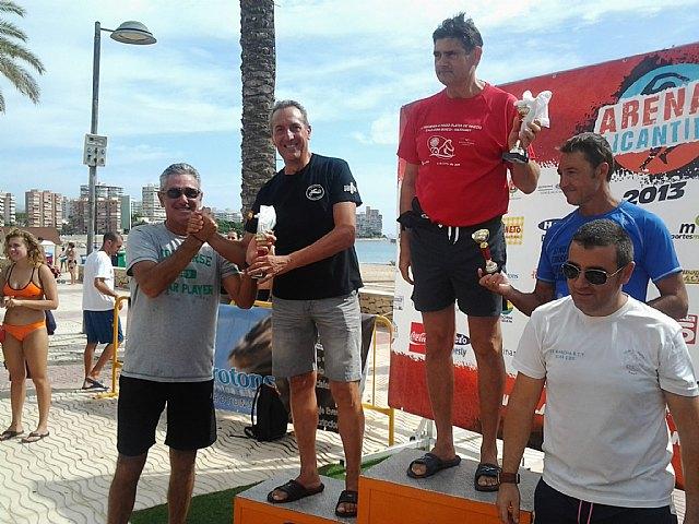 El pasado 25 de agosto se celebró en el polideportivo la 1ª jornada de nado continuo, Foto 1