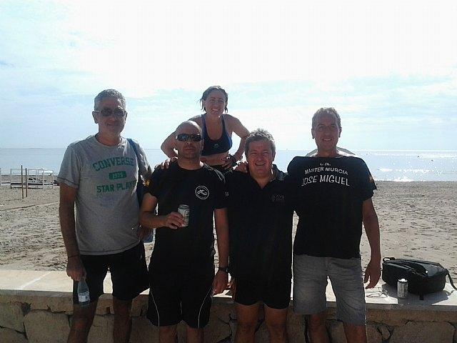 El pasado 25 de agosto se celebró en el polideportivo la 1ª jornada de nado continuo, Foto 3