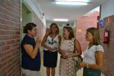 Los niños de San Pedro del Pinatar regresan a las aulas con motivo del inicio de curso