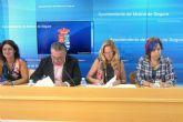 El Ayuntamiento de Molina de Segura y OMEP firman un convenio de colaboración para el fomento del empresariado femenino y la disminución de la brecha digital de género en el municipio