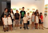Alumnos de la Escuela de Artes Nogalte realizan su primera exposición artística la Casa de los Duendes