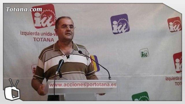 Rueda de prensa IU-verdes sobre actualidad política municipal, Foto 1