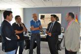 Visita del nuevo director del SEF, Alejandro Zamora, a San Javier