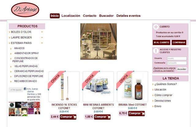 Ya puedes adquirir los productos de D´Arôme en su nueva página web, Foto 1