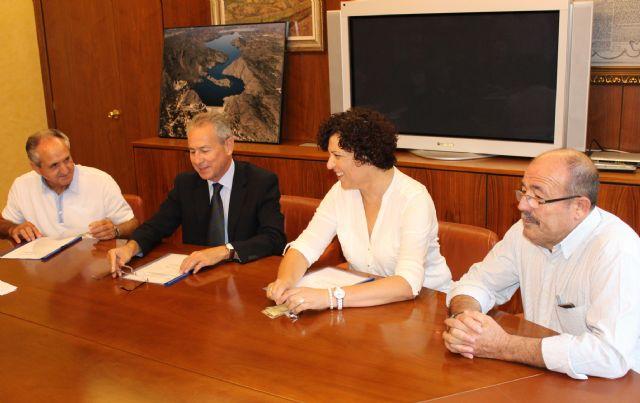 La Alcaldesa se reúne con el Presidente de la Confederación Hidrográfica del Segura para analizar los proyectos que se desarrollan en Puerto Lumbreras - 1, Foto 1