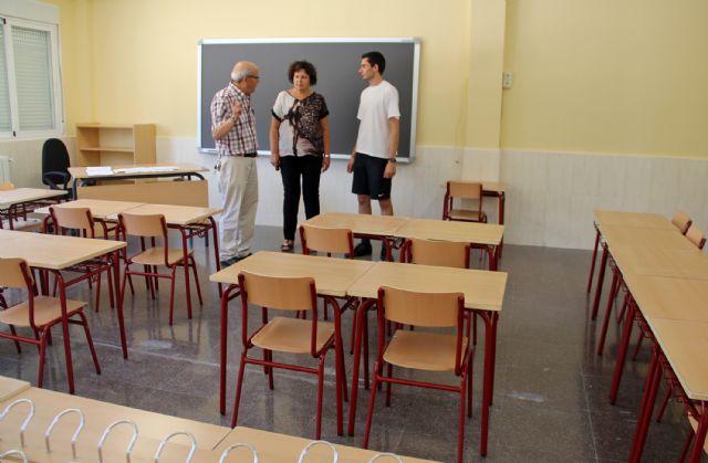 Nuevo mobiliario escolar para Centros de Enseñanza Infantil y Primaria de Puerto Lumbreras - 1, Foto 1