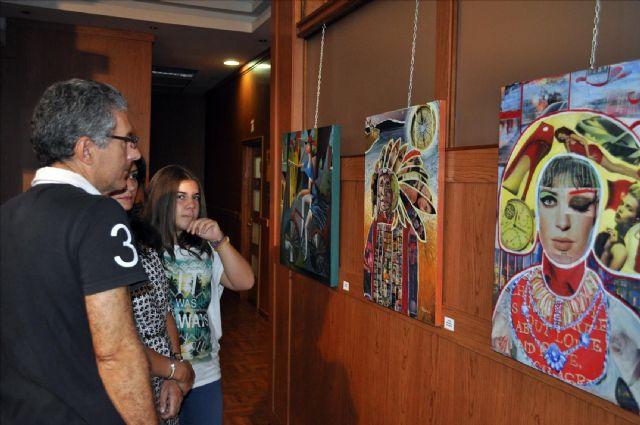 ´Artemisia´ llena de arte Puerto de Mazarrón con un estallido de color, Foto 4