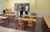 Nuevo mobiliario escolar para Centros de Enseñanza Infantil y Primaria de Puerto Lumbreras