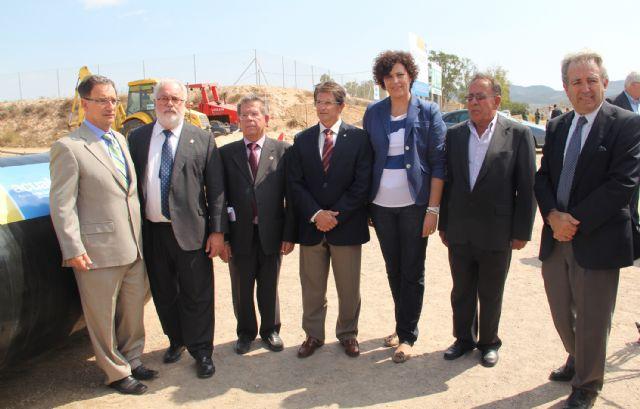 Comienzan las obras de las nuevas infraestructuras de regadío para la distribución de agua hasta Puerto Lumbreras y Lorca - 1, Foto 1