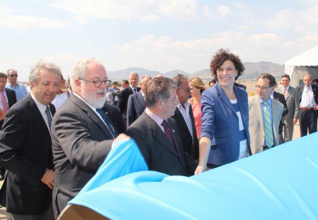 Comienzan las obras de las nuevas infraestructuras de regadío para la distribución de agua hasta Puerto Lumbreras y Lorca - 2, Foto 2