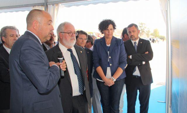Comienzan las obras de las nuevas infraestructuras de regadío para la distribución de agua hasta Puerto Lumbreras y Lorca - 3, Foto 3