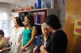 Autoridades municipales asisten al almuerzo totanero dentro del IX Encuentro Solidario de Amigos y Enfermos de Alzheimer