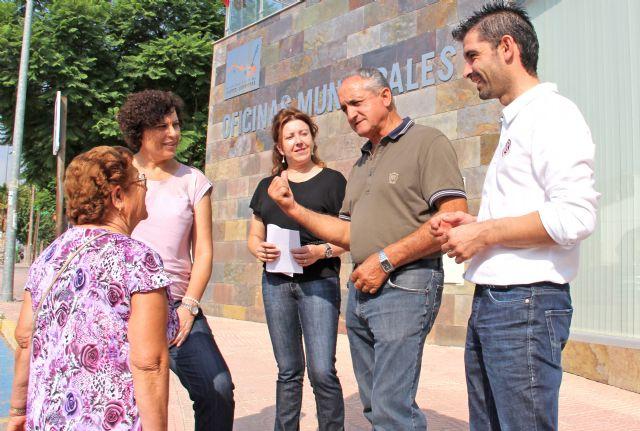 La Alcaldesa de Puerto Lumbreras trasladará los miércoles la Alcaldía a la pedanía de La Estación- Esparragal para atender a los ciudadanos - 1, Foto 1