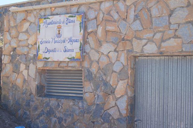 Mañana se inaugura el nuevo dep�sito de agua potable de La Sierra, Foto 1