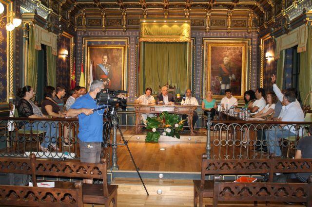 El Pleno aprueba una moción en defensa del trasvase Tajo-Segura., Foto 1