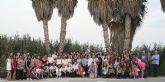 Cien personas disfrutan de una 'Ruta Sensorial' en el Parque Regional  de las Salinas y Arenales de San Pedro