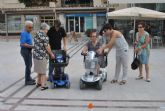 La Semana de la Movilidad dedicó la mañana de hoy a la movilidad reducida