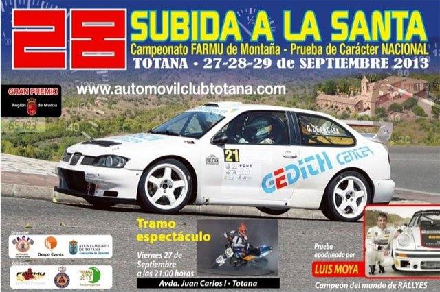 La 28º edición del Rally Subida a Santa tendrá lugar los próximos 27, 28 y 29 de septiembre, Foto 1