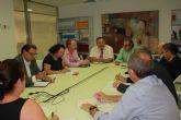 La comisión de seguimiento del proyecto estratégico de Portmán coordina sus trabajos