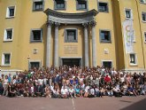 Recepción a los alumnos internacionales que estudiarán este curso en la UMU