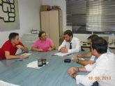 Reunión de la Ejecutiva Municipal Socialista con Joaquín López