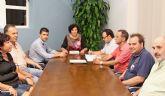 La Alcaldesa se reúne con la Confederación de Empresarios ASEPLU para planificar la puesta en macha de un Plan de Dinamización del Comercio Local