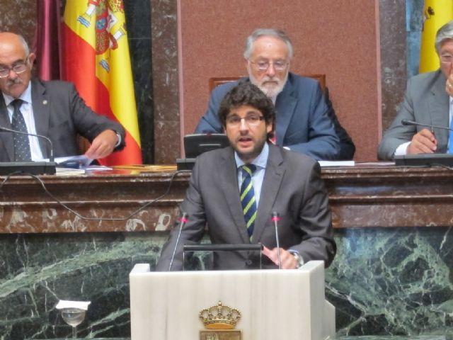 López Miras reclama las obras hídricas necesarias para que no se repita la catástrofe del pasado 28 de septiembre - 1, Foto 1