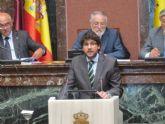 López Miras reclama 'las obras hídricas necesarias para que no se repita la catástrofe del pasado 28 de septiembre'