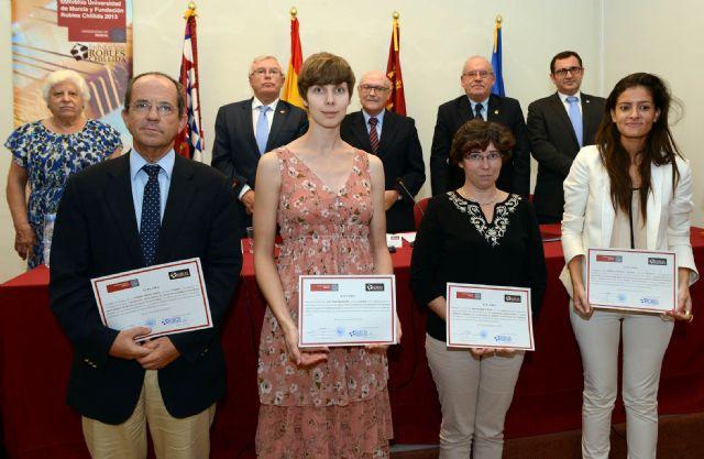 La Fundación Robles Chillida financia con 30.000 euros proyectos de investigación de la Universidad de Murcia - 1, Foto 1
